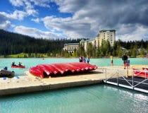 Καναδάς, εθνικό πάρκο Banff, Lake Louise Στοκ εικόνες με δικαίωμα ελεύθερης χρήσης