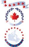 Καναδάς Ιούλιος patrotic1th ελεύθερη απεικόνιση δικαιώματος