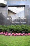 Καναδάς du place Στοκ Φωτογραφία