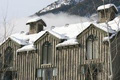 καναδικά βουνά σπιτιών Στοκ φωτογραφίες με δικαίωμα ελεύθερης χρήσης