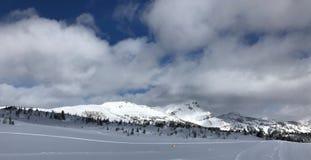 καναδικά βουνά Στοκ εικόνα με δικαίωμα ελεύθερης χρήσης