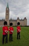 Καναδικές φρουρές Στοκ φωτογραφίες με δικαίωμα ελεύθερης χρήσης
