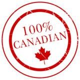 καναδική σφραγίδα 100 Στοκ Εικόνες