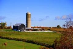 καναδικό αγρόκτημα επαρχί&al στοκ φωτογραφία με δικαίωμα ελεύθερης χρήσης