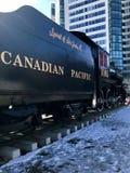Καναδικό αυτοκίνητο ραγών Στοκ Εικόνες