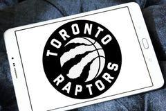 Καναδικό λογότυπο ομάδα μπάσκετ των Toronto Raptors Στοκ φωτογραφία με δικαίωμα ελεύθερης χρήσης