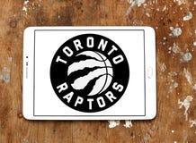 Καναδικό λογότυπο ομάδα μπάσκετ των Toronto Raptors Στοκ εικόνες με δικαίωμα ελεύθερης χρήσης
