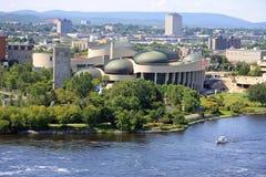 καναδικό μουσείο πολιτ&i Στοκ Εικόνες