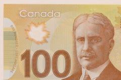 καναδικό νόμισμα Δολάρια Στενός επάνω πυροβολισμός λεπτομέρειας