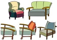 καναπέδες κήπων Στοκ Φωτογραφίες