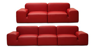καναπέδες Στοκ εικόνα με δικαίωμα ελεύθερης χρήσης