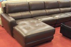Καναπές γωνιών Στοκ Εικόνες