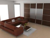καναπές δωματίων Στοκ εικόνα με δικαίωμα ελεύθερης χρήσης
