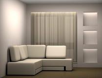 καναπές δωματίων Στοκ Εικόνες
