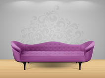 Καναπές - εγχώριο εσωτερικό Στοκ Φωτογραφίες