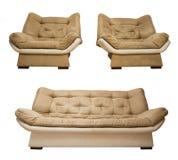 Καναπές και πολυθρόνες στοκ φωτογραφίες με δικαίωμα ελεύθερης χρήσης