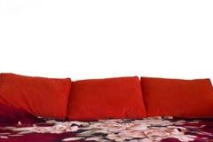 Καναπές με τα μαξιλάρια Στοκ Εικόνα