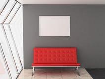 καναπές πλαισίων Στοκ εικόνα με δικαίωμα ελεύθερης χρήσης