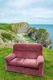 Καναπές στην κορυφή του λόφου, UK, Dorset, Στοκ Εικόνες