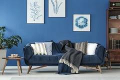 Καναπές στο καθιστικό Στοκ Εικόνες