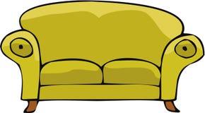καναπές 02 Στοκ εικόνα με δικαίωμα ελεύθερης χρήσης