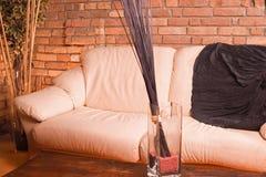 καναπές Στοκ Εικόνες