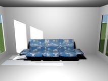καναπές Στοκ εικόνες με δικαίωμα ελεύθερης χρήσης