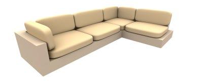 καναπές 2 Στοκ φωτογραφία με δικαίωμα ελεύθερης χρήσης