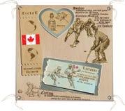 Καναδάς - εικόνες της ζωής, αθλητισμός Στοκ εικόνα με δικαίωμα ελεύθερης χρήσης