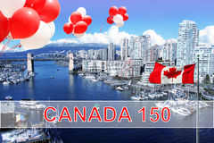 Καναδάς 150 Στοκ Εικόνα