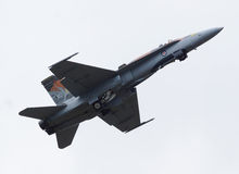 Καναδικά βλ.-18 Hornet Στοκ εικόνες με δικαίωμα ελεύθερης χρήσης
