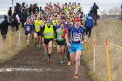 Καναδικά διαγώνια τρέχοντας πρωταθλήματα 2015 χώρας Στοκ Εικόνες