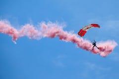 Καναδική ομάδα αλεξίπτωτων Skyhawks δυνάμεων στοκ εικόνες με δικαίωμα ελεύθερης χρήσης