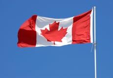 καναδική σειρά σημαιών Στοκ Φωτογραφία