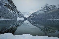 Καναδική φύση - Lake Louise Στοκ Εικόνα