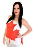 Καναδικός αθλητικός ανεμιστήρας Στοκ φωτογραφίες με δικαίωμα ελεύθερης χρήσης