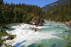Καναδικός ποταμός Ladscape Στοκ Εικόνες