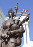 Καναδικός πολεμικός ήρωας Στοκ Φωτογραφία