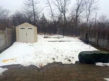 καναδικός χειμώνας Στοκ εικόνα με δικαίωμα ελεύθερης χρήσης