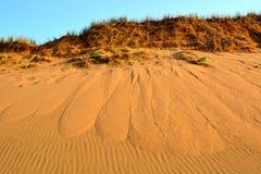 Καναδικό νησί Eduard πριγκήπων αμμόλοφων άμμου Στοκ Φωτογραφίες