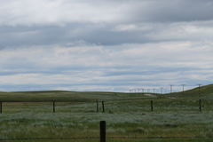 Καναδικό τοπίο λιβαδιών στοκ εικόνα με δικαίωμα ελεύθερης χρήσης