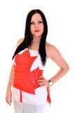 Καναδικό Sportsfan Στοκ φωτογραφία με δικαίωμα ελεύθερης χρήσης