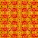 Κανονικό floral χρυσό κόκκινο σχεδίων Στοκ Εικόνα