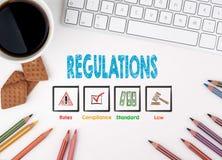 Κανονισμοί, επιχειρησιακή έννοια λευκό Ιστού γραφείων γραφείων επιχειρηματιών περιοδείας Στοκ εικόνες με δικαίωμα ελεύθερης χρήσης