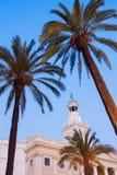 Καντίζ Δημαρχείο σε Plaza San Juan de Dios Στοκ φωτογραφία με δικαίωμα ελεύθερης χρήσης
