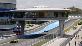 ΚΑΝΤΙΖ - 28 ΜΑΐΟΥ: Τύπος παγκόσμιας σειράς V8 3 5 Jerez de Λα Front απόθεμα βίντεο
