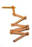 Κανόνας ξυλουργού Στοκ Φωτογραφίες