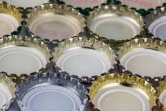 Καπάκια μπύρας Στοκ φωτογραφίες με δικαίωμα ελεύθερης χρήσης
