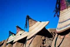 καπέλα κάτοικος του Μάλι χαρακτηριστικός στοκ φωτογραφίες με δικαίωμα ελεύθερης χρήσης