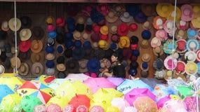 Καπέλα και Parasols σε Basha στοκ εικόνες